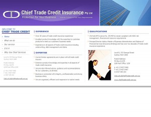 Chief Trade Credit Insurance