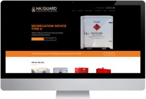 Hazguard - Website Design