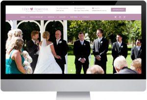 I Do Forever - Website Design