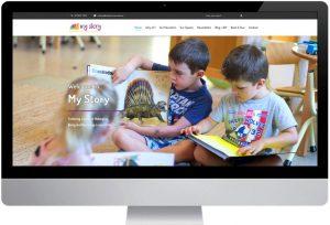 My Story - Website Design